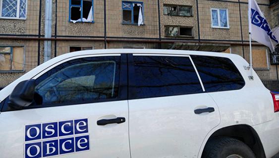 Миссия ОБСЕ вчера зафиксировала полтысячи взрывов наДонбассе