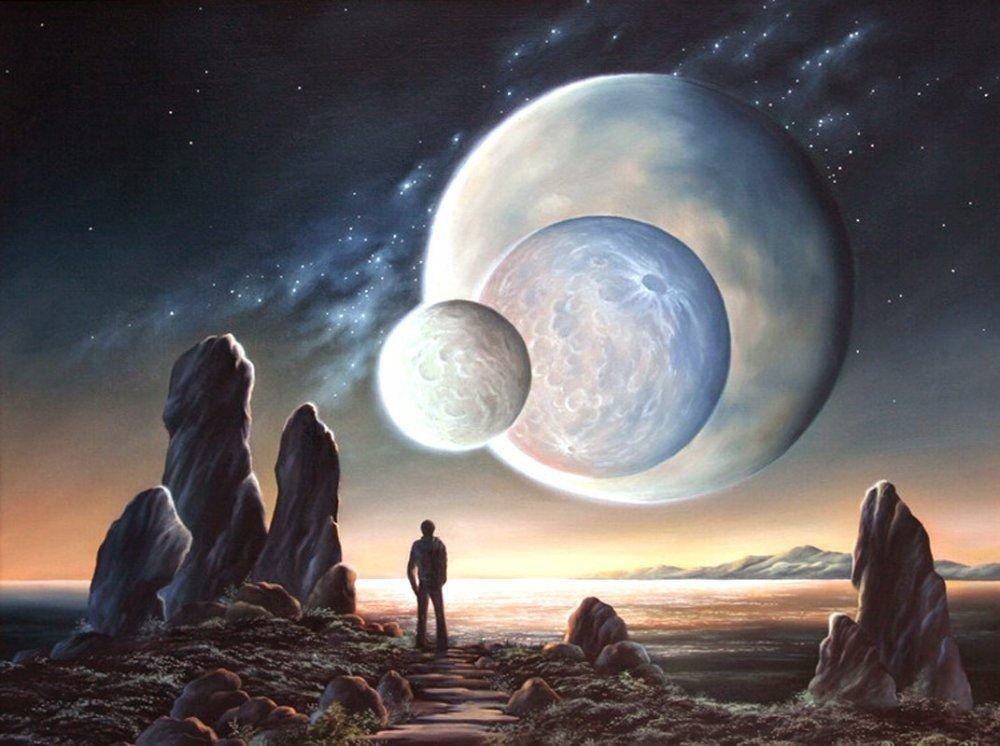 Раньше доэтого уЗемли было два спутника-Луны— Ученые