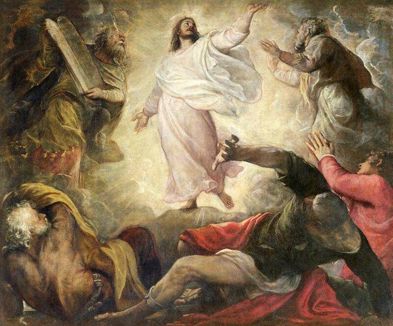 Titian. Transfiguration, c1560