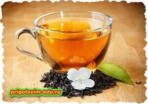 Чай с жасмином и мёдом
