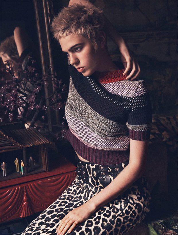 Julia Cumming Poses for Harper's Bazaar Kazakhstan August 2016 Edition