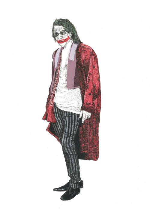 The Joker wearing Haider Ackermann Spring 2015 Collection in Highsnobiety Magazine Issue 10