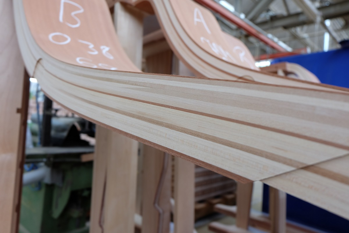 Корпус рояля Steinway & Sons, как делают рояли, как делают пианино
