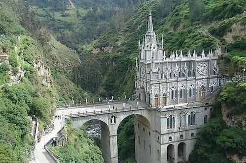 Собор Las Lajas (Колумбия)