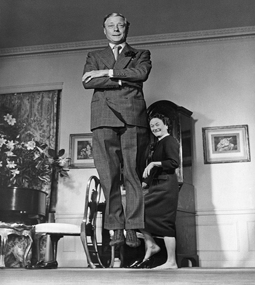 Герцог и герцогиня Виндзор, 1956