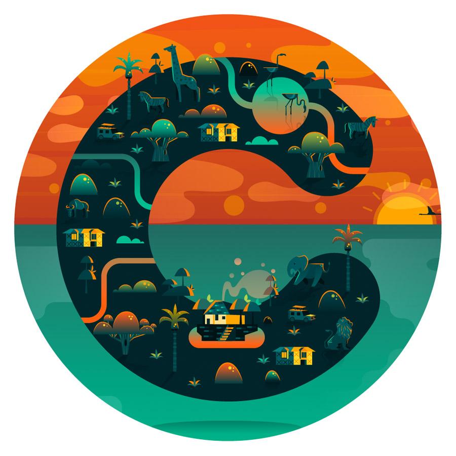 Cosmopolis as cidades nas ilustracoes de Aldo Crusher (23 pics)