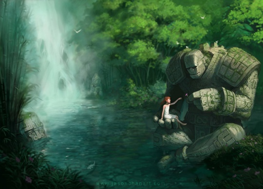 Stunning Fantasy Illustrations by Jason Chan