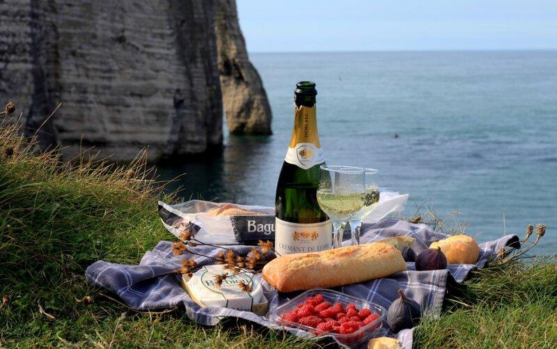 Еда во Франции - Этрета (Food in France - Etretat)