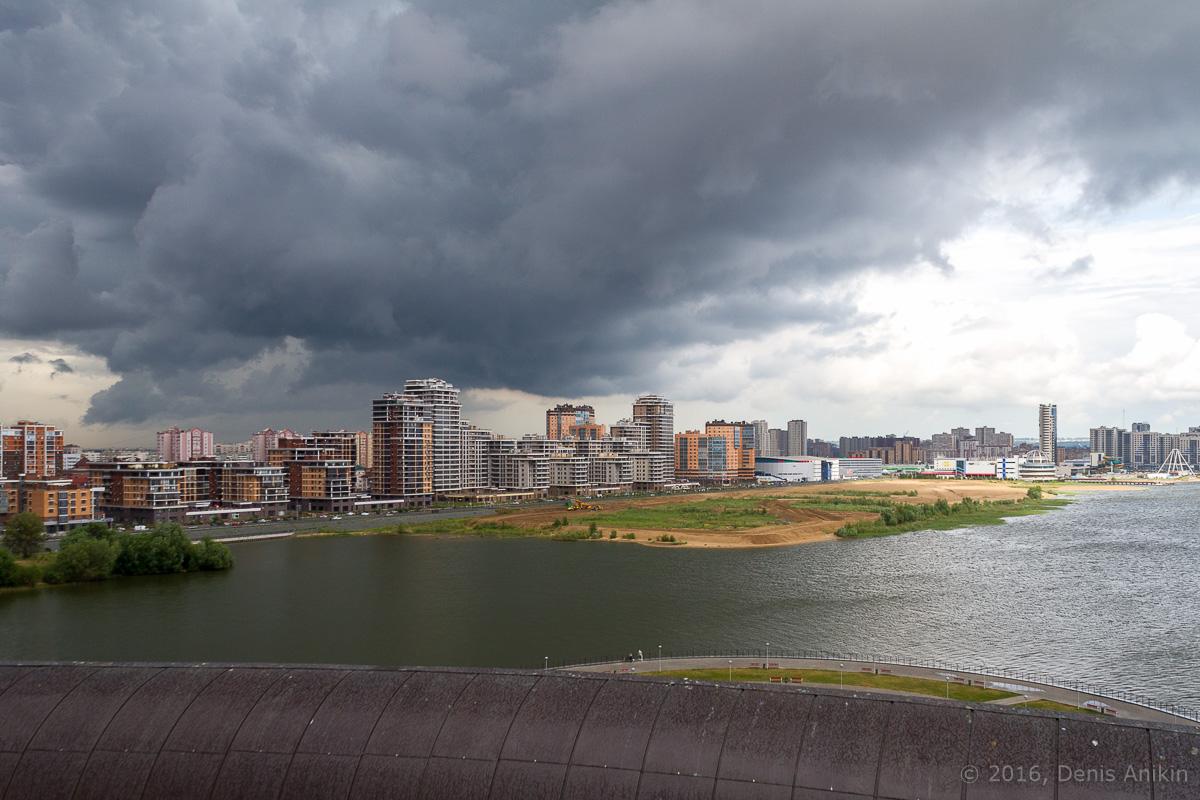 Казань с крыши Казана 3