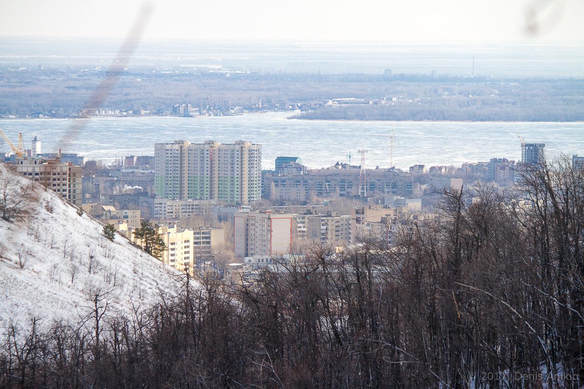 терренкур октябрьское ущелье зима Саратов фото 13