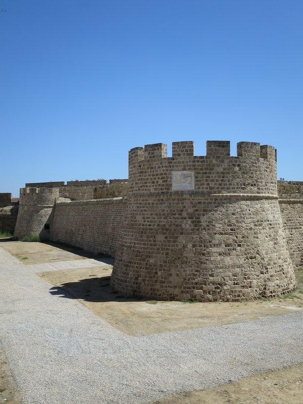 Фамагуста. Крепость. Западная стена