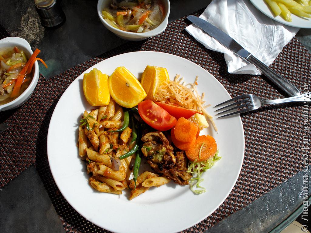 еда в Mirage Bay