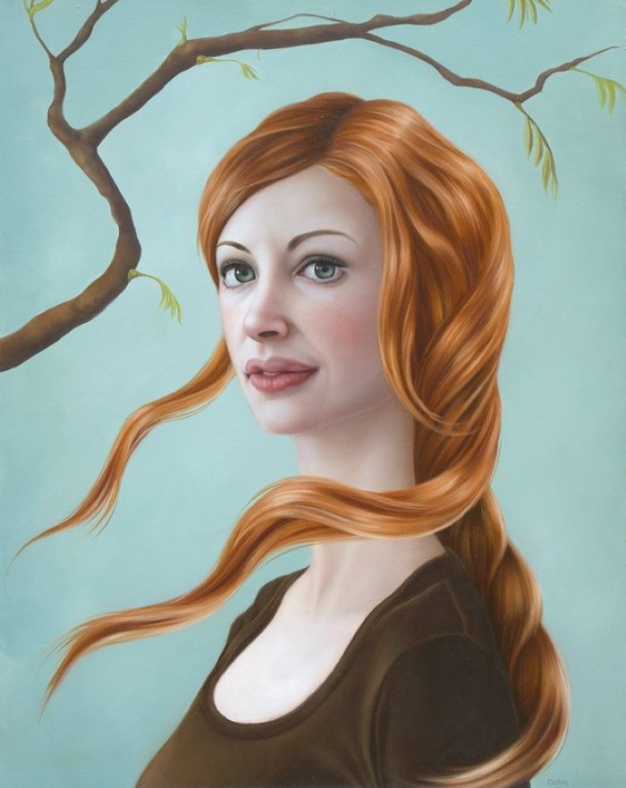 Сара Долби. Портретная живопись с повествованием.