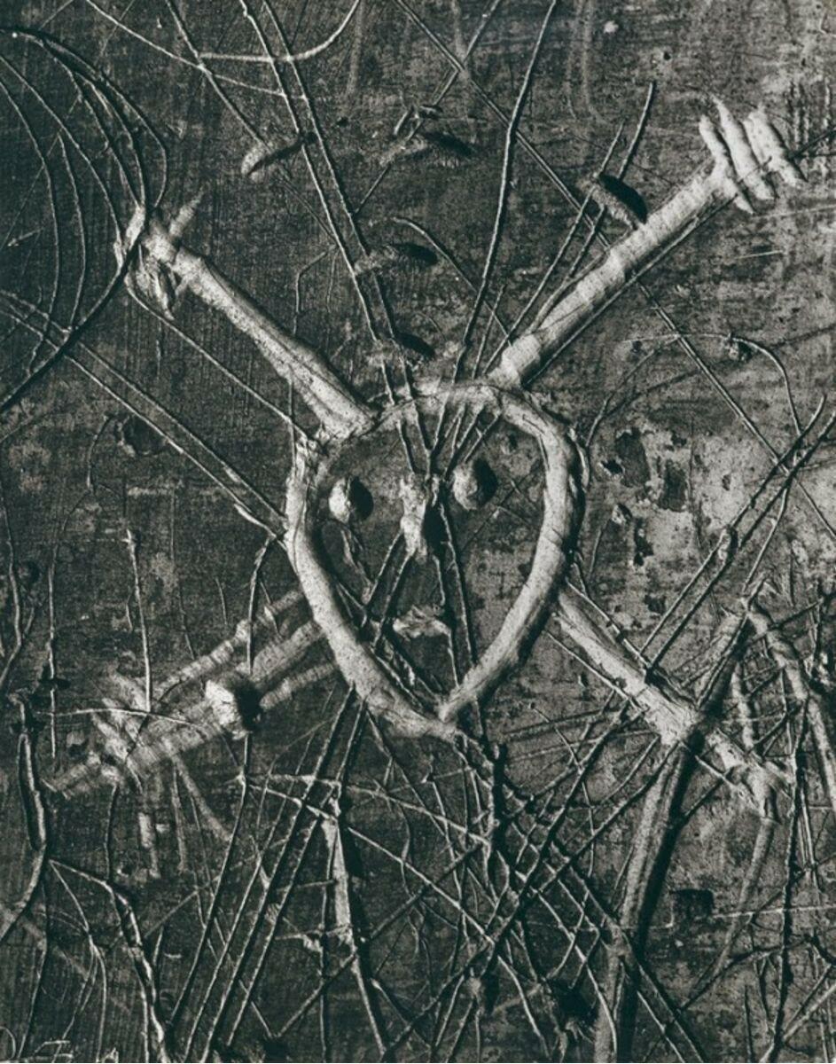 1935. Граффити. Серия VI. Любовь