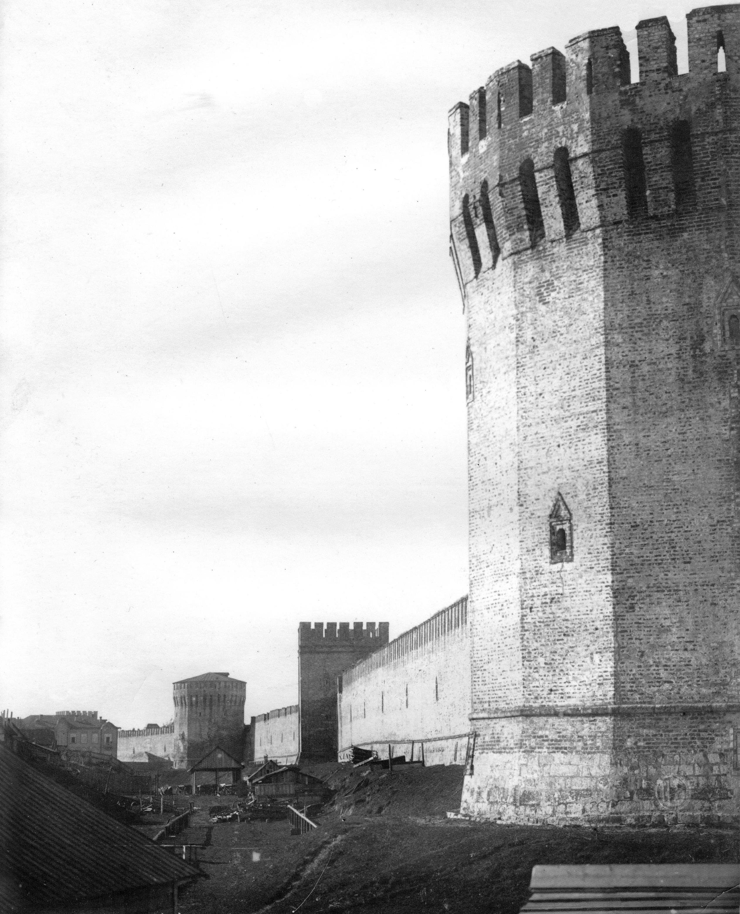 Башни Долгочевская, Воронина и Заалтарная. 1918
