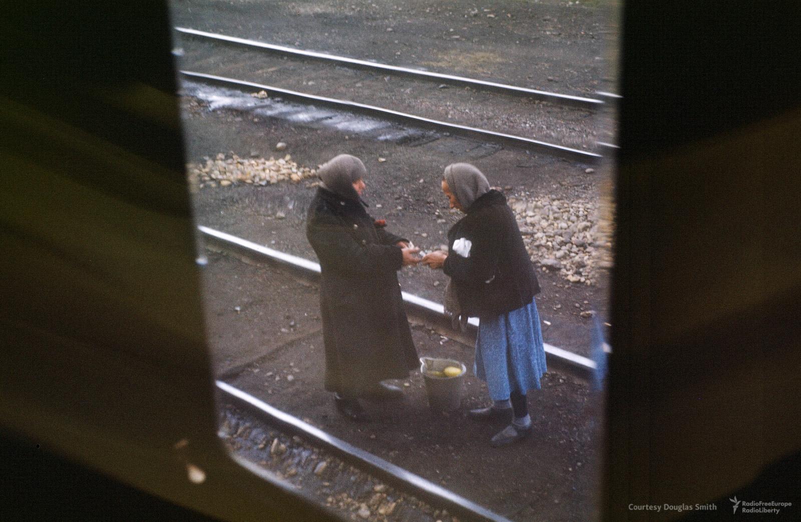 Вид из поезда. Место неизвестно