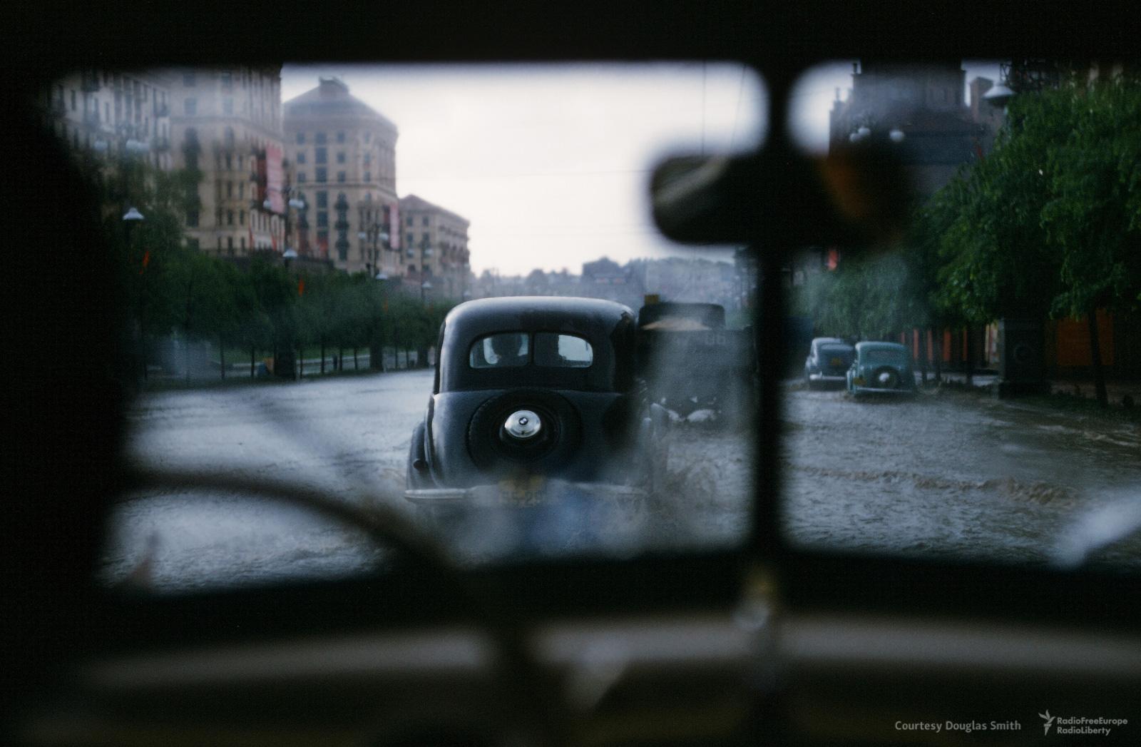Киев. Затопленные улицы