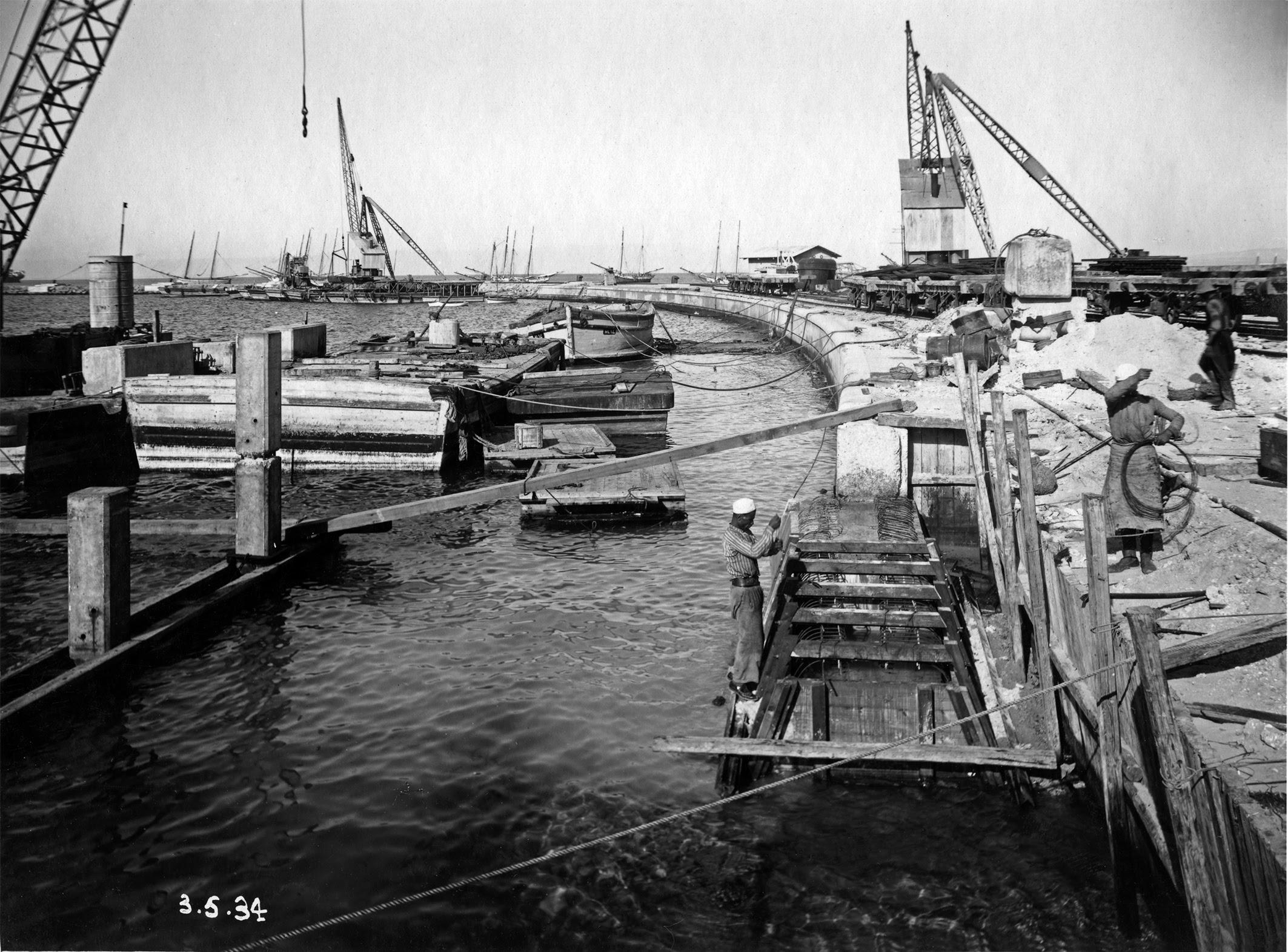 Строительство порта