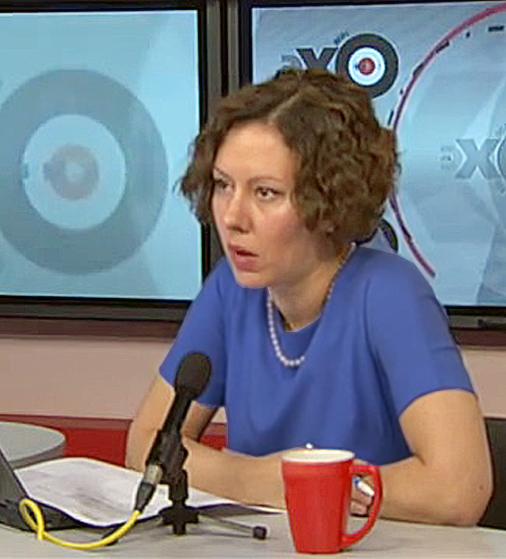 Ольга Журавлёва в Особом Мнении с Владимиром Рыжковым 26 июня, 2017.