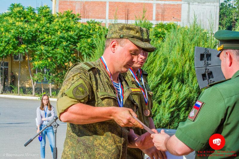 В Астрахани прошло награждение лучших экипажей в индивидуальной гонке военного ралли