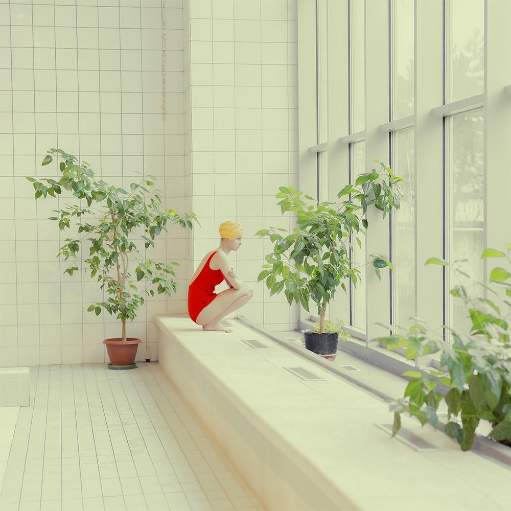 Художественные фотографии Марии Сварбовой из бассейнов