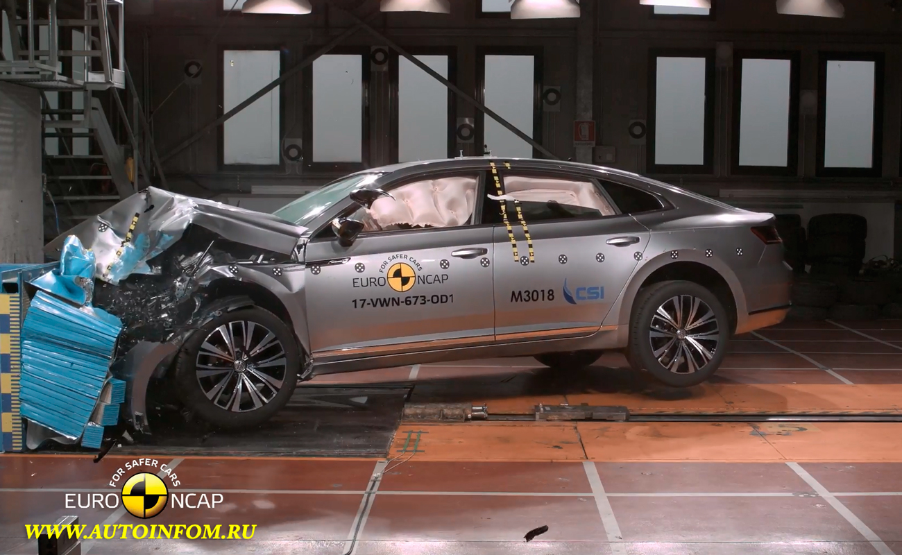 Crash Test VW Arteon 2017