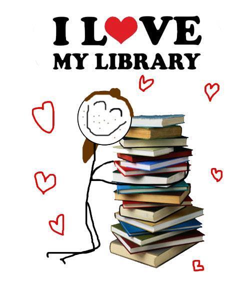 День библиотек! Я люблю библиотеку открытки фото рисунки картинки поздравления