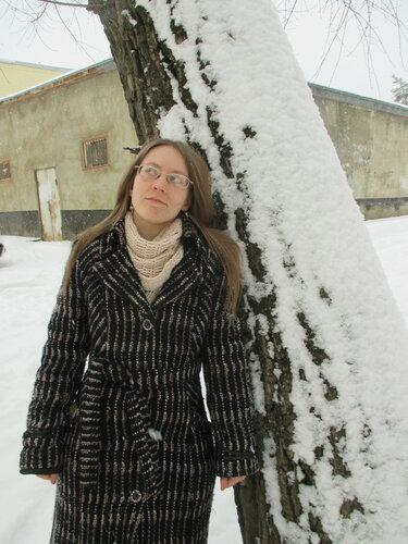 Зимние портреты. У тополя
