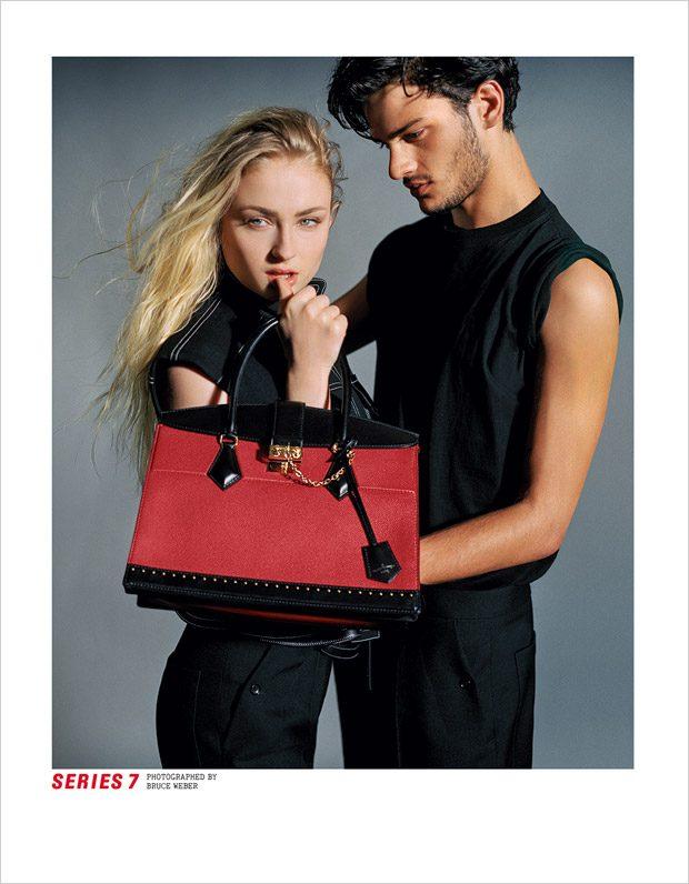 Модели, актёры и актрисы в рекламной кампании Louis Vuitton (8 фото)