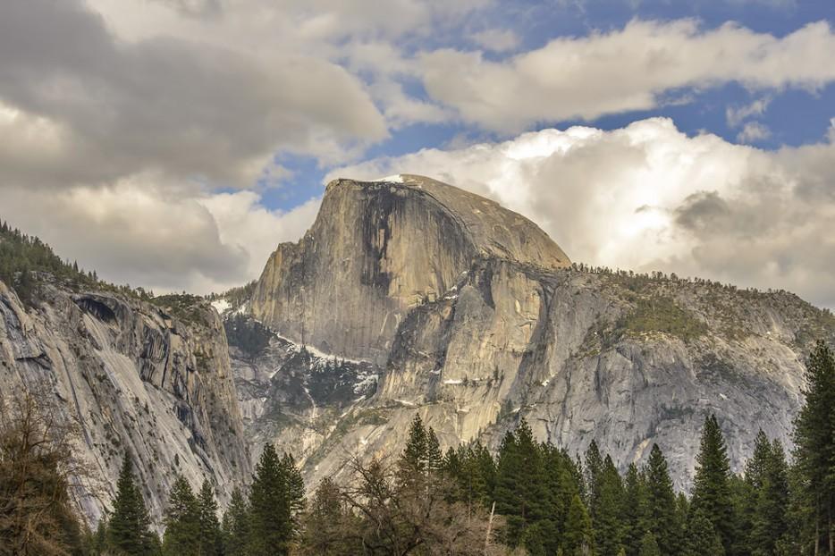 52. Скала Хаф-Доум в парке Йосемити, США