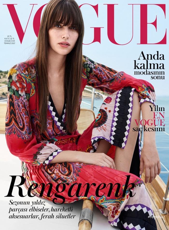 Ванесса Муди для турецкого Vogue