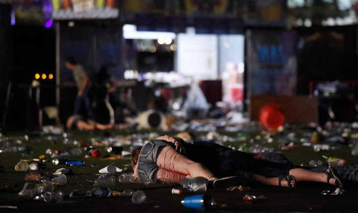 Бойня в Лас-Вегасе (20 фото)