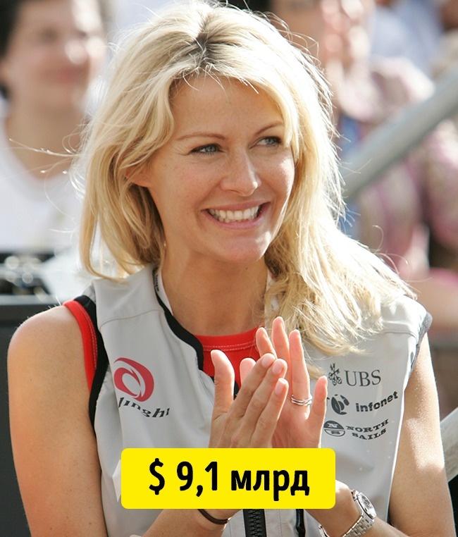 © reuters.com     Сейчас Бертарелли , супруга владельца компании Serono,— самая богатая