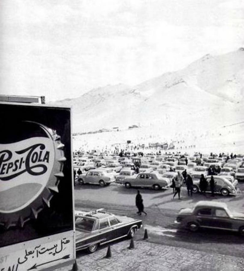 14. Горнолыжный курорт Абали в 1966 году. Courtesy of Kaveh Farrokh