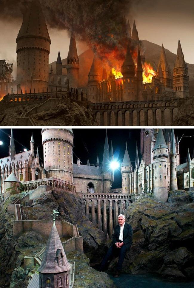 Декорации к фильмам о Гарри Поттере примечательны тем, что после съемок они не отправились пылиться
