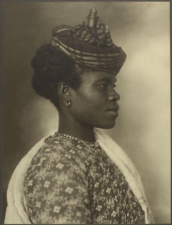 15. Женщина из Гваделупы