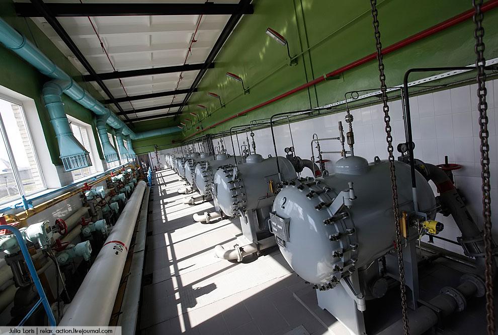 Заправочные агрегаты , которые подключаются прямо на перроне к Центральной заправке
