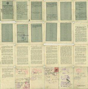 Паспортная книжка для Царства Польского