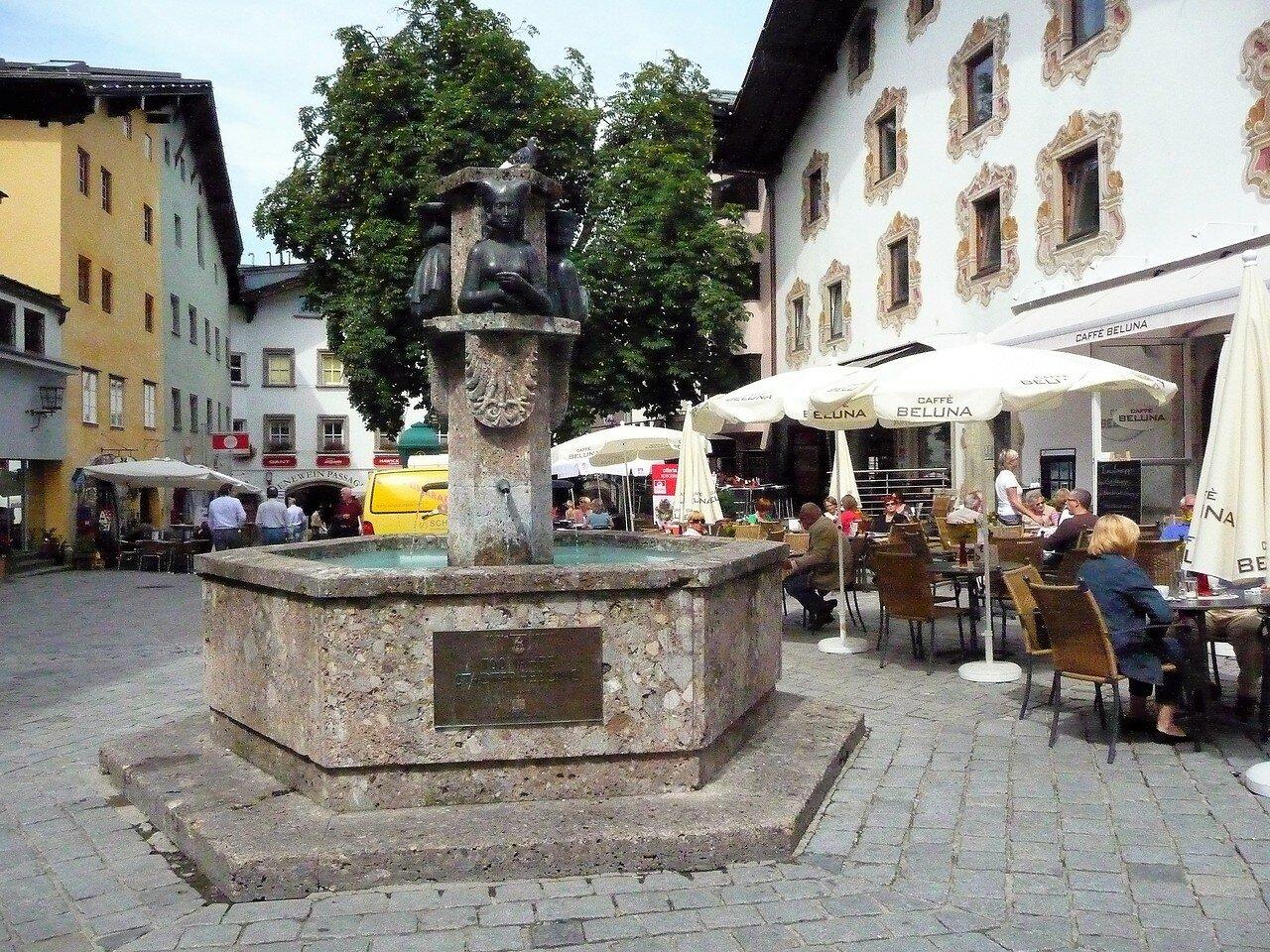 Stadtbrunnen Kitzbühel