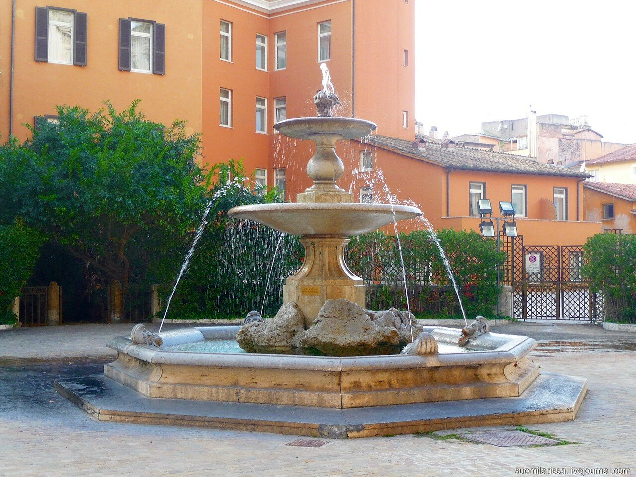 Фонтан. Дворец Барберини