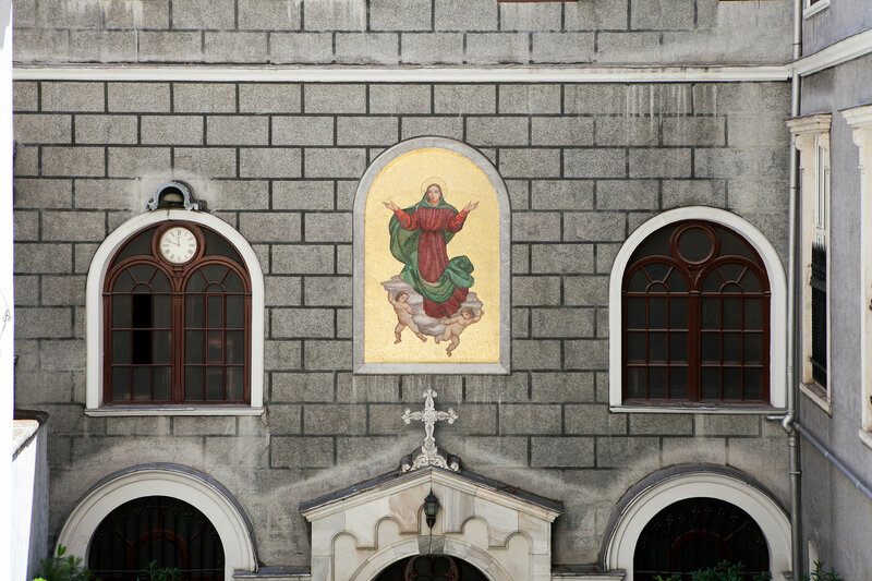 Saint Mary Draperis Church, Istiklal Caddesi, Beyoglu, Istanbul, Turkey