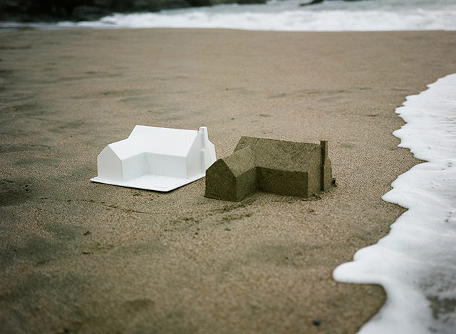 The American Dream: A Sand Castle Suburb Consumed by the Ocean (5 pics)