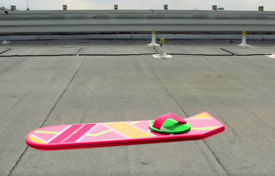 Back to The Future's Hoverboard Ad