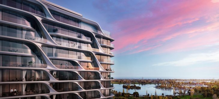 Located within the established streetscape of St Kilda Road, the design enables residents to make fu