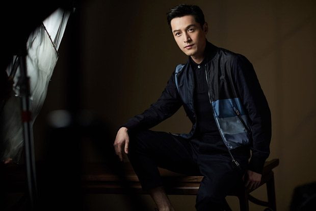 HU GE is the Face of Emporio Armani Spring Summer 2018 Collection
