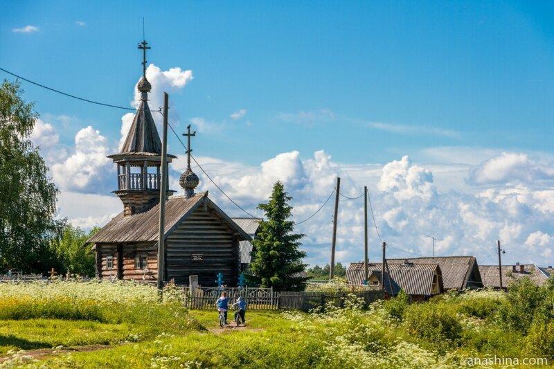 Часовня Илии Пророка и кладбище, Пяльма, Карелия
