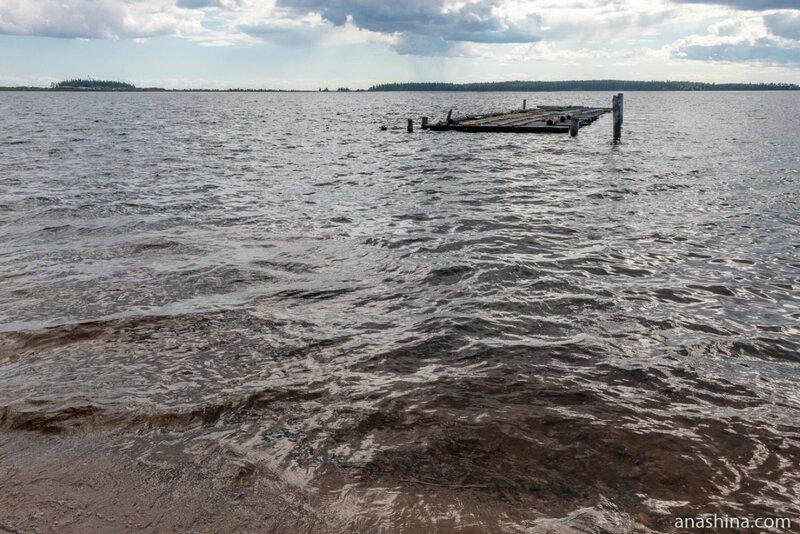 Повенецкий залив Онежского озера