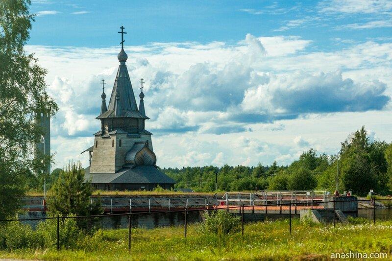 Храм Святителя Николая в Повенце и Беломорканал