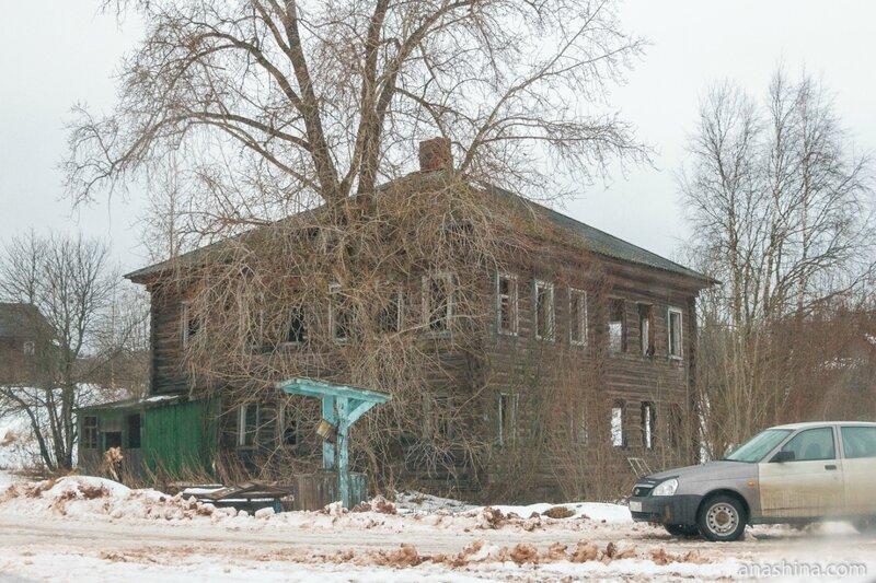 Бывшая начальная школа, Саминский Погост