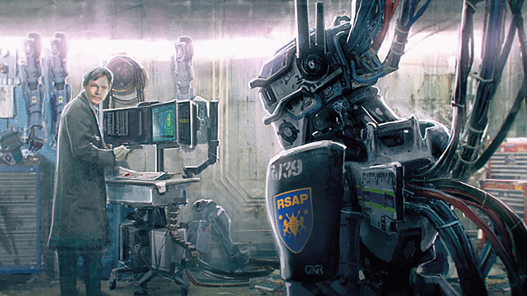 Chappie Concept Art by Ben Mauro